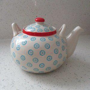 Bloomingville Ceramic Emma Teapot NEW